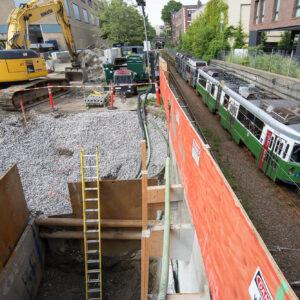 MBTA Fenway Mitigation Project, BONC Civil & Utility, BOND Blog