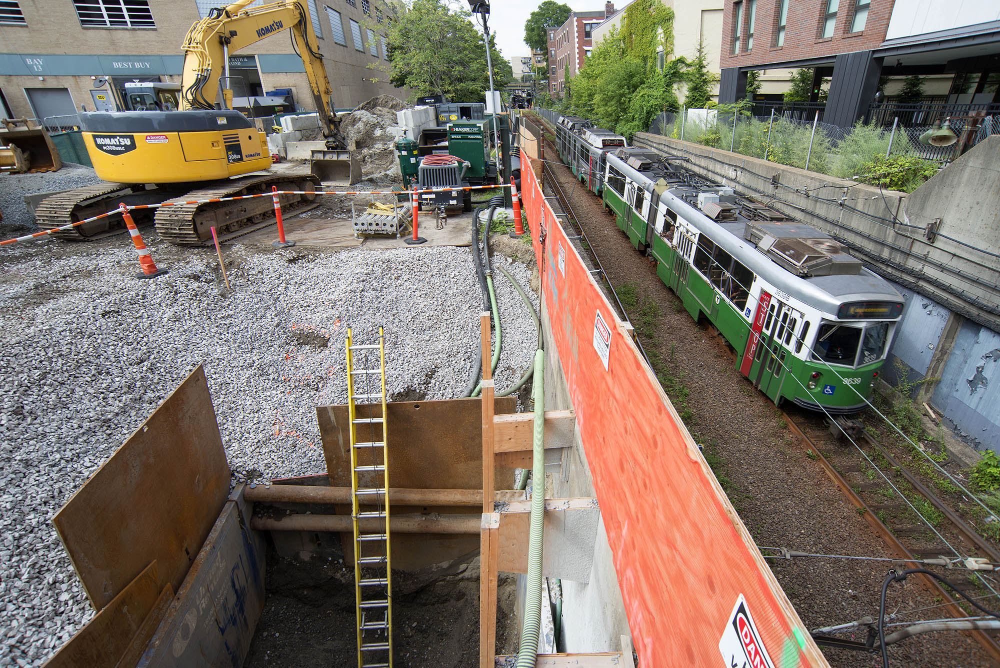 MBTA Fenway Mitigation Project, BONC Civil & Utility, BOND Blog