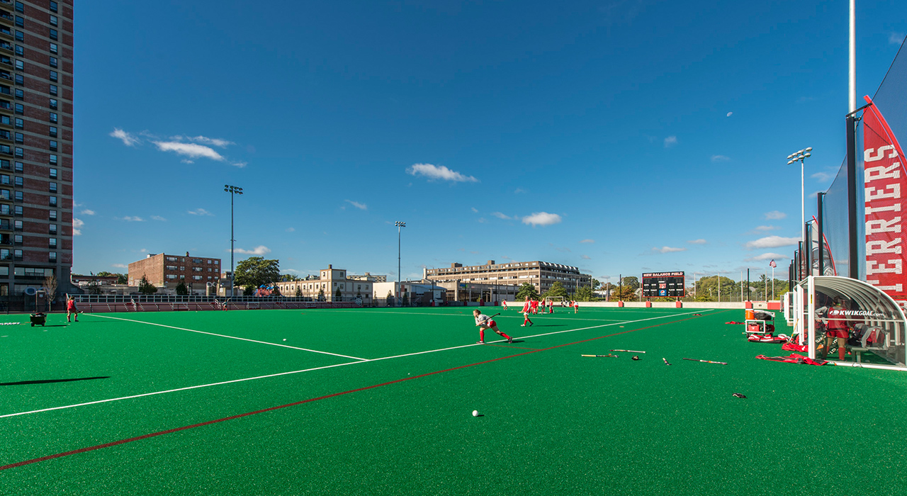 Boston University, New Balance Field Construction